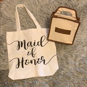 Handbags - Maid or honor and best man set